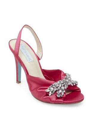 Briel Slingback Pumps by Betsey Johnson
