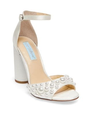 Cara High Heel Dress Sandals by Betsey Johnson