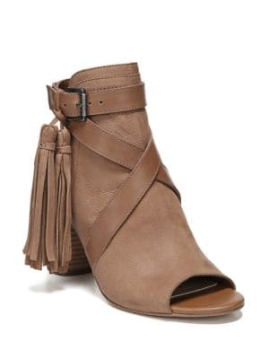 Vermont Leather Open Toe Booties by Sam Edelman