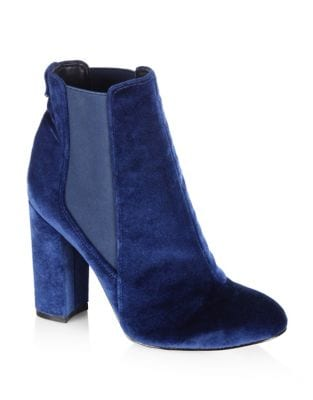 Case Velvet Booties by Sam Edelman