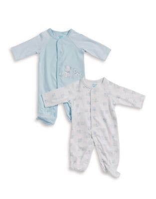 Baby Boy's Two-Pack Puppy-Accented...