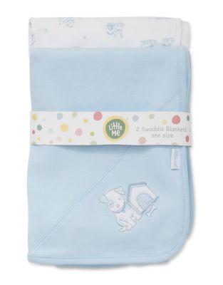 Swaddle Cotton BlanketSet of 2