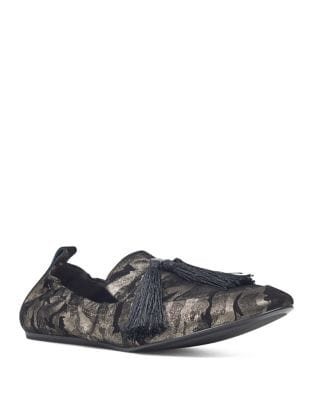 Ballard Metallic Textured Loafers by Nine West