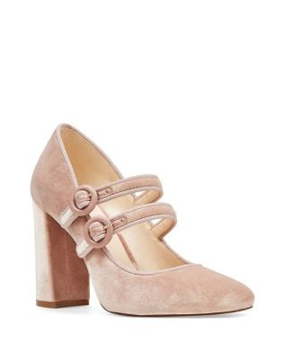 Dabney Velvet Mary Jane Pump by Nine West