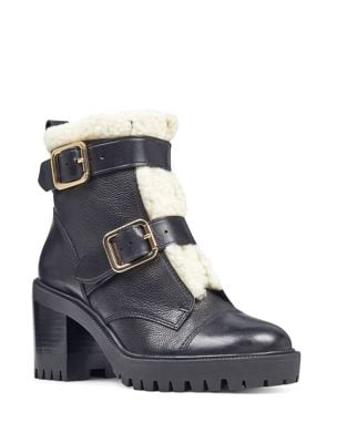 Ingramm Leather Booties by Nine West