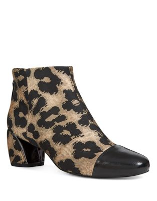 Joannie Fabric Booties by Nine West