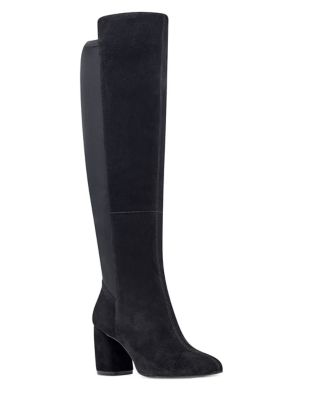 Kerianna Suede Tall Boots by Nine West