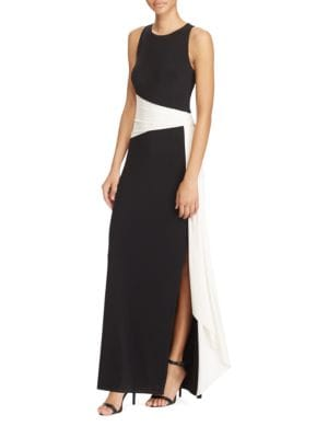 Colorblock Jersey Gown by Lauren Ralph Lauren
