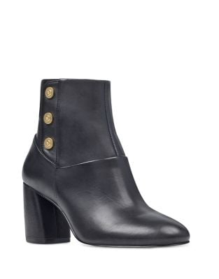 Kirtley Leather Booties by Nine West