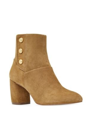 Kirtley Suede Booties by Nine West