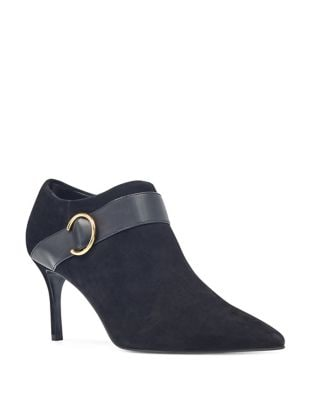 Megaera Suede Booties by Nine West