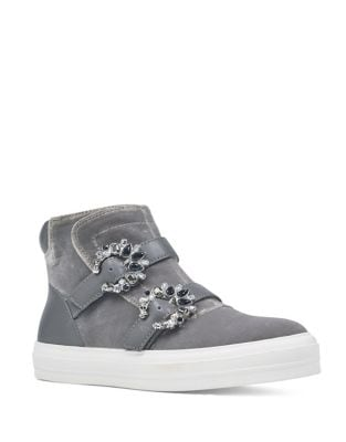 Orisna Embellish Velvet Sneakers by Nine West
