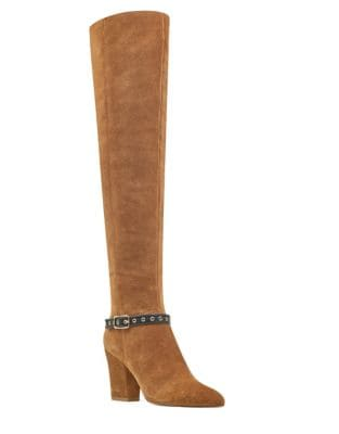 Sandor Suede Boots by Nine West
