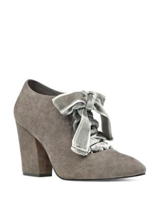 Chic Suede Booties by Nine West
