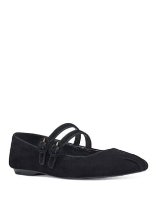 Xrye Suede Mary Jane Flat by Nine West