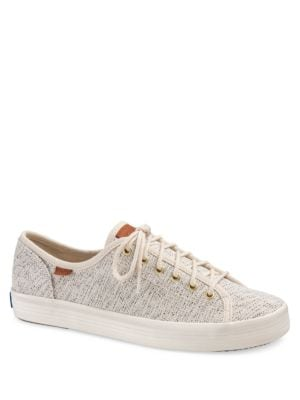 Textured Lace-Up Sneakers by Keds