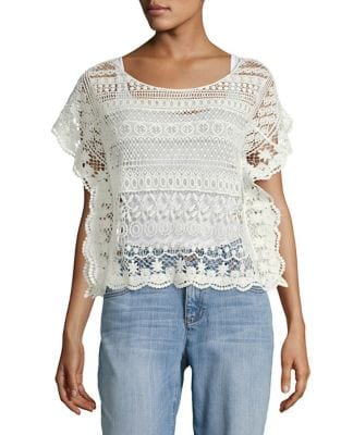 Crocheted Top @ Lord...