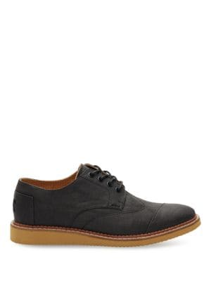 Cap Toe Style Wingtip Oxfords by TOMS
