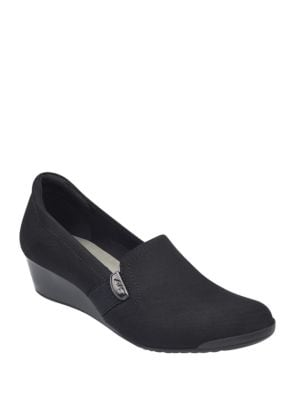 Photo of Sport Constance Slip-On Wedge Loafers by Anne Klein - shop Anne Klein shoes sales