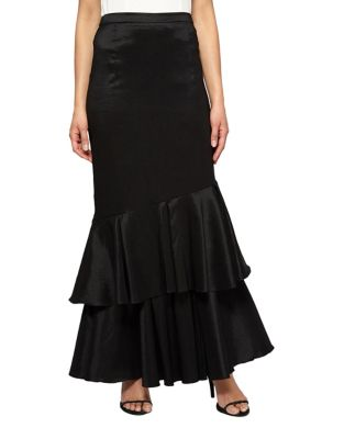 Double-Tier Skirt by Alex Evenings