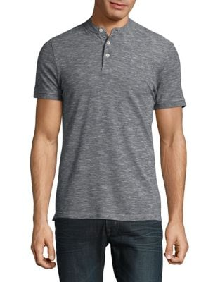 Heathered Knit Henley by Calvin Klein Jeans