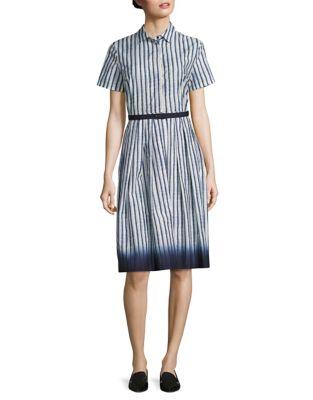 Gabarra Poplin Cotton Dress 500087169514