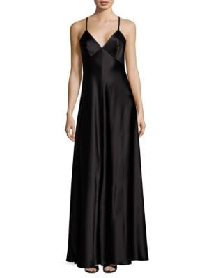 Satin Slip Gown by Jill Jill Stuart