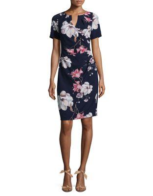 Floral Sheath Dress 500087173048