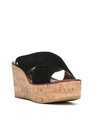 Photo of Darlene Leather Wedges by Sam Edelman - shop Sam Edelman shoes sales