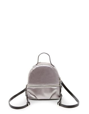 Satin Mini Backpack @...