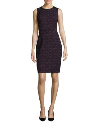 Printed Sheath Dress by DKNY