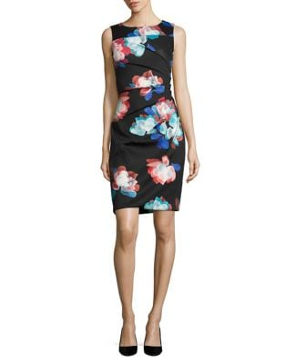 Floral Burst Dress by Calvin Klein
