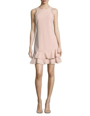 Embellished Crepe Shift Dress by Ivanka Trump