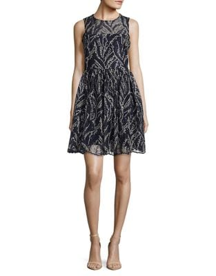 Embroidered and Sequined Dress by Belle Badgley Mischka
