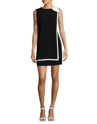 Bow Sheath Dress by Tahari Arthur S. Levine