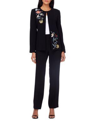 Floral Suit Top by Tahari Arthur S. Levine