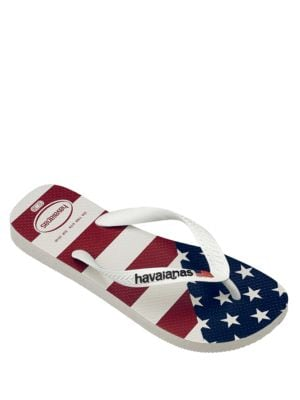 USA Flag Flip Flops by Havaianas