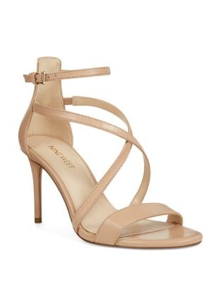 Retilthrpy Stiletto Leather Sandals by Nine West