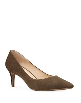 Soho Pointed Toe Suede Dress Pumps by Nine West