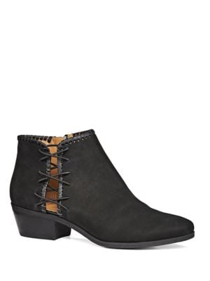 Reagan Leather Booties by Jack Rogers