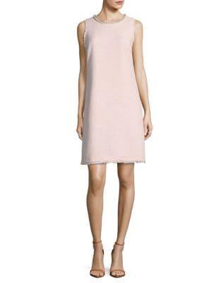 Eye-Catching Tweed Dress by Karl Lagerfeld Paris