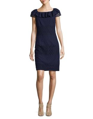 Cotton Shift Dress by Karl Lagerfeld Paris