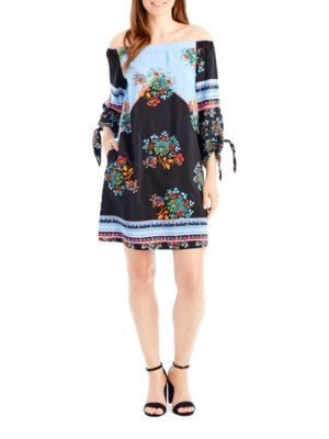 Off-The-Shoulder Dress by Nicole Miller New York