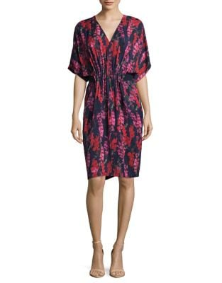 Floral Blouson Dress by Phase Eight
