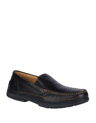 Top Sider Gold Loafer Twin Gore by Sperry
