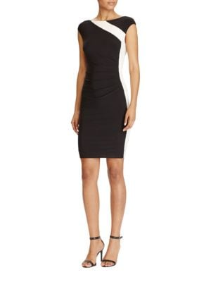 Color Block Sheath Dress by Lauren Ralph Lauren