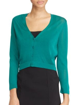 Cropped Cardigan by Lauren Ralph Lauren