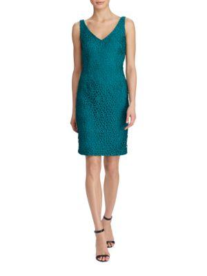 Photo of Lauren Ralph Lauren Crocheted Sheath Dress