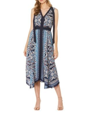 Oasis Paisley Printed Dress by Laundry by Shelli Segal