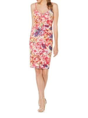 Bright Floral Dress by Laundry by Shelli Segal
